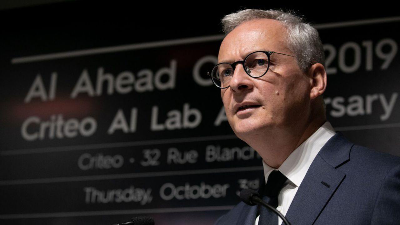 Bruno Le Maire Ministre de l'Economie
